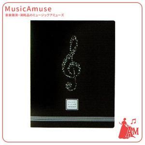 ミュージッククリアホルダー ト音記号 YO9015-03  ミュージックアミューズ|music-amuse