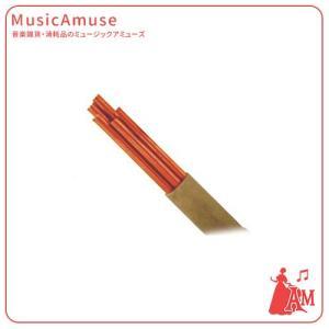 ACADEMY OF MUSIC 写譜用ノックペンシル 替芯(5 本入)レッド JMK-23/RE  ミュージックアミューズ|music-amuse