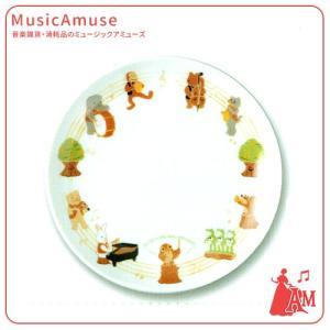 プレート 音符の森 SCB-1017  ミュージックアミューズ|music-amuse
