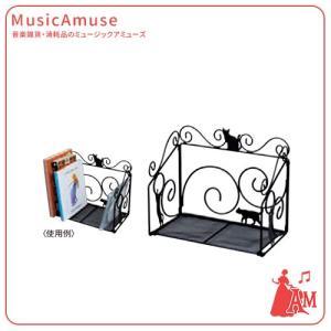 黒猫ブックスタンド G-4534BK  ミュージックアミューズ music-amuse