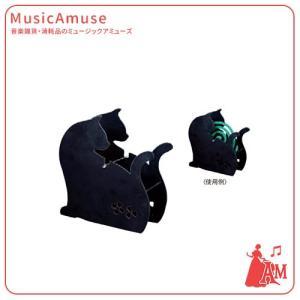 黒猫蚊遣り  G-4506BK  ミュージックアミューズ music-amuse