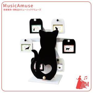 オルゴール付回転式フレーム 星に願いを G-8391BK  ミュージックアミューズ music-amuse