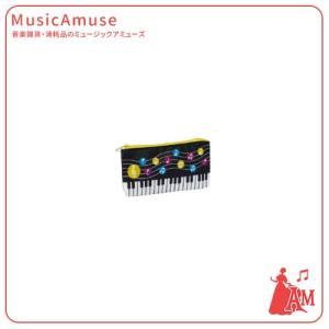 ペンケース 水玉音符 MO0615-01  ミュージックアミューズ|music-amuse