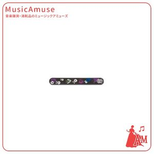 爪みがき(バッファ) ケース入り やすり スカル  ブラック NC50BSKBL  ミュージックアミューズ|music-amuse