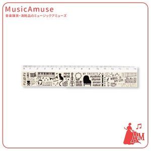 定規 ミュージックライフ ML37RU  ミュージックアミューズ|music-amuse
