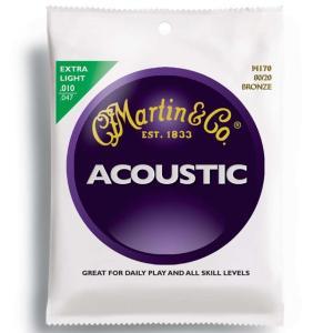 《メール便/代引不可》《3セット》 Martin (マーチン) M170 80/20 BRONZE EXTRA LIGHT music-exp