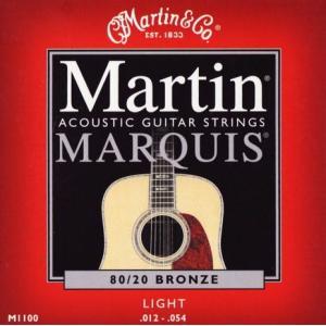 《メール便/代引不可》《3セット》 Martin (マーチン) M1100 80/20 BRONZE LIGHT music-exp