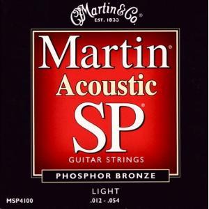 《メール便/代引不可》《3セット》 Martin (マーチン) MSP4100 SP PHOSPHOR BRONZE LIGHT music-exp