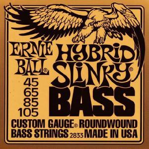 ERNIE BALL (アーニーボール) HYBRID SLINKY BASS #2833 ベース弦 music-exp
