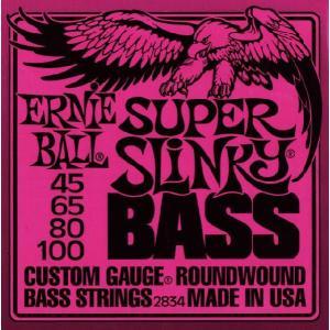 ERNIE BALL (アーニーボール) SUPER SLINKY BASS #2834 ベース弦 music-exp