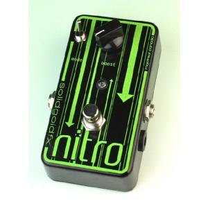 《正規輸入品・新品》 solid gold fx (ソリッドゴールドエフエックス) nitro ブースター|music-exp
