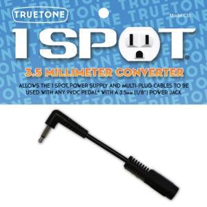 《メール便/代引不可》《正規輸入品・新品》 TRUETONE (トゥルートーン) 1 SPOT (ワンスポット) C35 PIN 3.5 MILLIMETER CONVERTER|music-exp