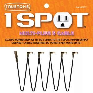 《メール便/代引不可》《正規輸入品・新品》 TRUETONE (トゥルートーン) 1 SPOT (ワンスポット) MC5 MULTI PLUG 5 CABLE|music-exp