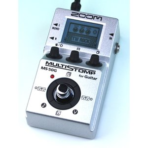 《メーカー取り寄せ》《正規品》《新品》 ZOOM (ズーム) MS-50G (MS50G) マルチストンプ|music-exp