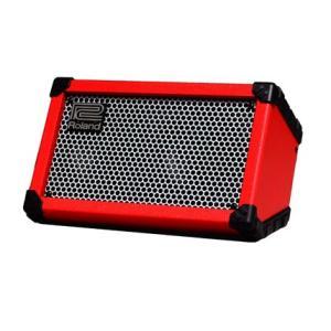 《正規品》《新品》Roland (ローランド) CUBE Street Red (CUBE-ST-R) Battery Powered Stereo Amplifier ギターアンプ music-exp