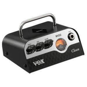 《正規品》《新品》 VOX (ヴォックス) MV50 Clean (MV50-CL) ギターヘッドアンプ music-exp