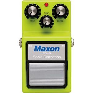《正規品》《新品》Maxon (マクソン) SD9 Sonic Distortion ディストーション|music-exp