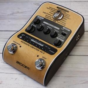 《正規品》《新品》 ZOOM (ズーム) AC-2 Acoustic Creator アコースティッ...