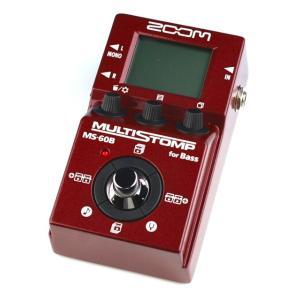 《正規品》《新品》 ZOOM (ズーム) MS-60B for Bass (MS60B) マルチストンプ|music-exp