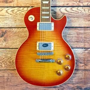 《在庫有》 Gibson (ギブソン) Les Paul Standard PlusAAA Figured Maple Top Heritage Cherry Sunburst レスポール music-exp