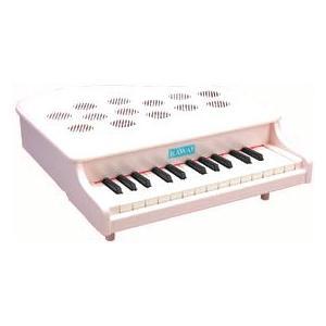 《メーカー取り寄せ》《正規品》《新品》 KAWAI (カワイ) ミニピアノ P-25 (ピンキッシュ...
