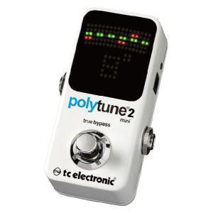 《在庫有》《正規輸入品・新品》 t.c.electronic (TCエレクトロニック) PolyTune 2 Mini ポリフォニックチューナー