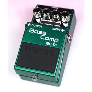 《在庫有》《正規品・新品》 BOSS (ボス) BC-1X Bass Comp ベース用コンプレッサー|music-exp