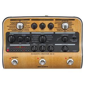 《正規品》《新品》 ZOOM (ズーム) AC-3 Acoustic Creator アコースティッ...