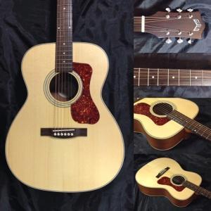《正規輸入品・新品》 GUILD (ギルド) OM-240E (Natural) The Westerly Collection エレアコギター|music-exp