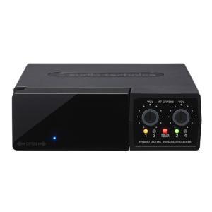 {新製品}オーディオテクニカ AT-CR7000 (2MHz帯)(3MHz帯)4チャンネルレシーバー 【新品】 AT-CR701,AT-CR771の後継品|music-net