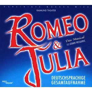 ロミオ & ジュリエット オリジナル・ウィーン・キャスト 完全版 (輸入2枚組CD)|musical-shop