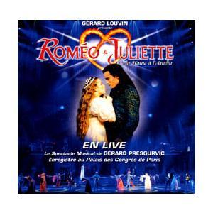ロミオ & ジュリエット オリジナル・フランス・キャスト 実況ライブ (輸入2枚組CD)|musical-shop