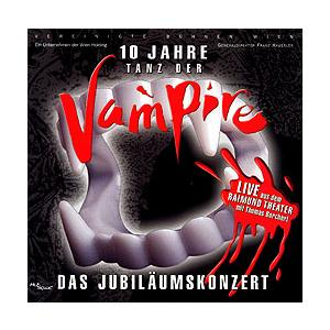 TANZ DER VAMPIRE 〜ダンス・オブ・ヴァンパイア〜 10周年記念コンサート (輸入CD)|musical-shop