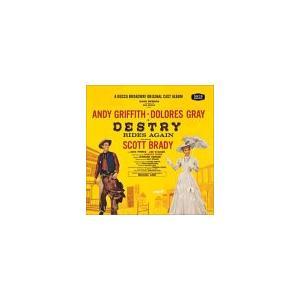 デストリー・ライズ・アゲイン オリジナル・ブロードウェイ・キャスト (国内盤CD)|musical-shop