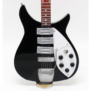 [Musical Story] E-Model ミニチュア ギター フィギュア 模型 BEATLES ジョン レノン RB 325 スタイル