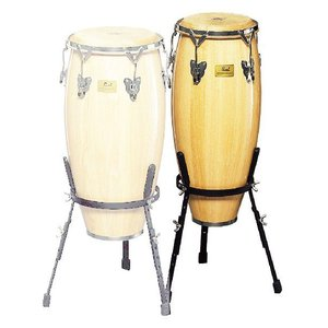 "Pearl White Wood Congas CG-210WS (10""×20"") パール コンガ"
