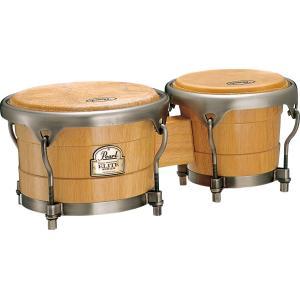 Pearl Elite Wood Bongos PBW-300DX #511 ナチュラル|musicfarm