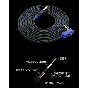 VOX Special Series VGS-030 ギター用シールド 3M  ボックス ギターケー...