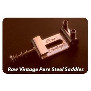 Raw Vintage Pure Steel Saddle RVS-108 (10.8mm / 0....