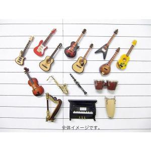 お得な2個セット 3Dミニチュア楽器マグネット ギフトボックス付き(オプション)|musicoffice