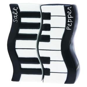 塩コショウ入れ 2ピースセット♪ピアノデザイン|musicoffice