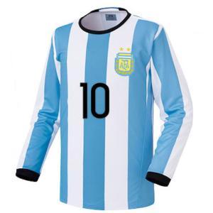 名入れOK アルゼンチン ホーム 16-17 上着のみ FL ノンブランド レプリカユニフォーム ご希望のイニシャル背番号 無料プリント|musicoffice