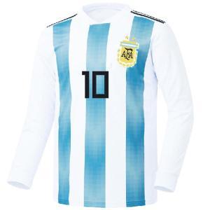 名入れOK アルゼンチン ホーム 18-19 上着のみ FL ノンブランド レプリカユニフォーム ご希望のイニシャル背番号 無料プリント|musicoffice