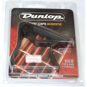 Dunlop(ダンロップ) Acoustic Curved Trigger Capos 83C Black|musicplant