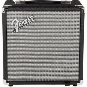 Fender(フェンダー) Rumble 15 (V3), 100V JPN, Black/Silv...