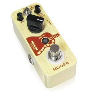 <エフェクター リヴァーブ> Mooer WoodVerbは、アコースティックギターのた...