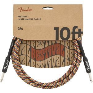 Fender(フェンダー) Festival Instrument Cable, Rainbow 1...