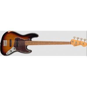 Fender(フェンダー) 60th Anniversary Road Worn Jazz Bass 3-Color Sunburst|musicplant