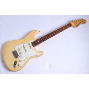 【中古】Fender(フェンダー) USA Yngwie Malmsteen Stratocaster, Scalloped Rosewood, Vintage White|musicplant