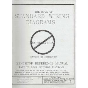 洋書 『THE BOOK OF STANDARD WIRING DIAGRAMS』 Schatten Design|musicplant